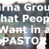 Barna Group: What People Want in a PASTOR