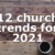 12 church trends for 2021